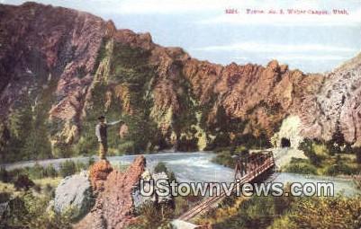 Tunnel No. 3 - Weber Canyon, Utah UT Postcard