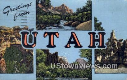 The Watchman - Zion National Park, Utah UT Postcard