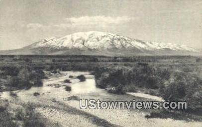 Medicine Bow River - Elk Mountain, Utah UT Postcard