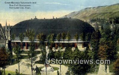Great Mormon Tabernacle - Salt Lake City, Utah UT Postcard