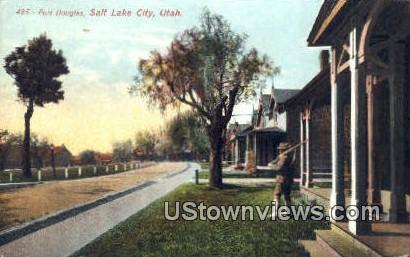 Fort Douglas - Salt Lake City, Utah UT Postcard