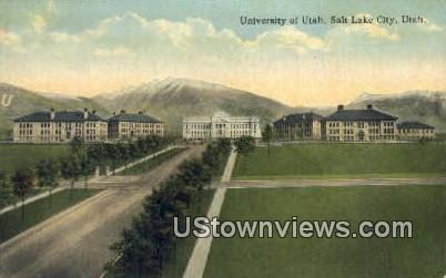 University of Utah - Salt Lake City Postcard