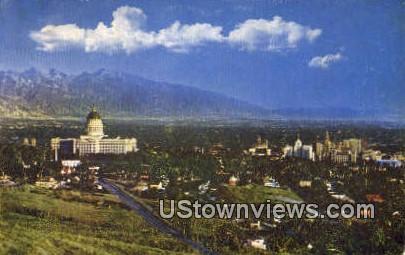 State Capitol - Salt Lake City, Utah UT Postcard