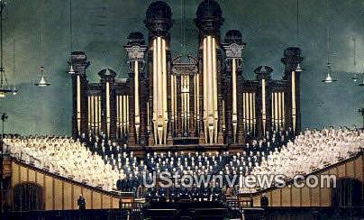 Mormon Tabernacle - Salt Lake City, Utah UT Postcard