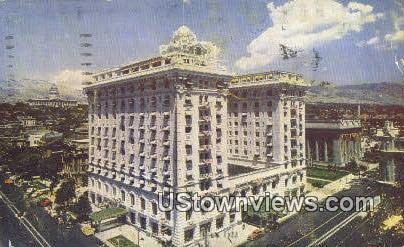 Hotel Utah - Salt Lake City Postcard