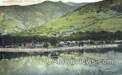 Lagoon - Salt Lake City, Utah UT Postcard