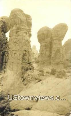 Arches National Monument - Moab, Utah UT Postcard