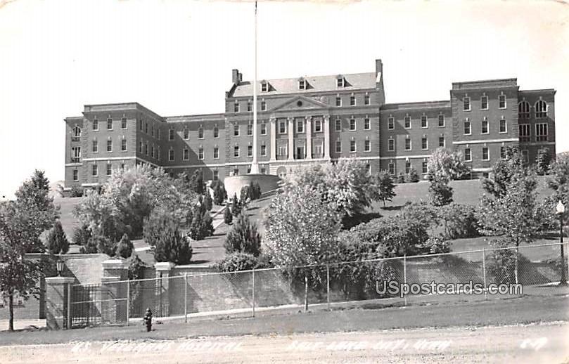 US Veteran Hospital - Salt Lake City, Utah UT Postcard
