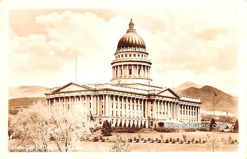 State Capitol Building - Salt Lake City, Utah UT Postcard
