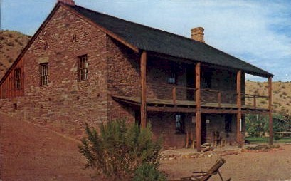 Jacob Hamblin Home - Santa Clara, Utah UT Postcard