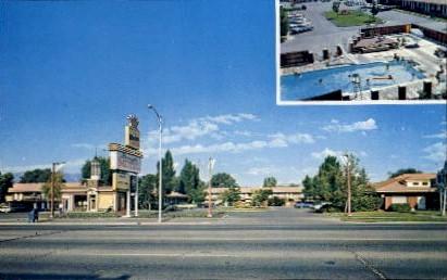 Baugh Motel - Logan, Utah UT Postcard