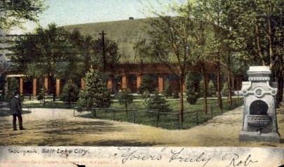 Tabernacle - Salt Lake City, Utah UT Postcard