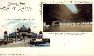 The Pavilion Saltair - Salt Lake City, Utah UT Postcard