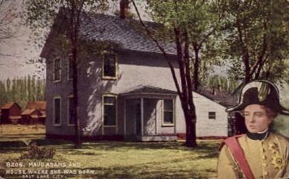 Maud Adams - Salt Lake City, Utah UT Postcard