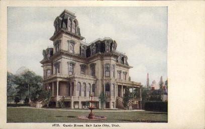 Gardo House - Salt Lake City, Utah UT Postcard
