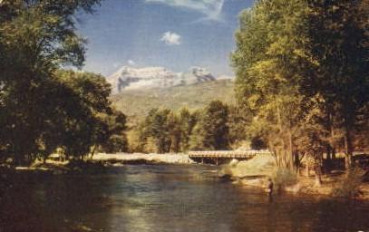 Mount Timpanogos - Salt Lake City, Utah UT Postcard