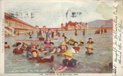 Joy Galore - Salt Lake City, Utah UT Postcard