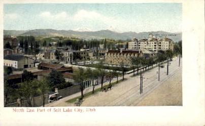 North East Part - Salt Lake City, Utah UT Postcard