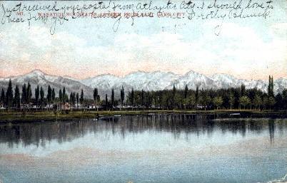 Wasatch Mountains - Salt Lake City, Utah UT Postcard