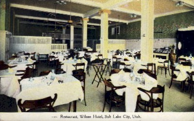 Wilson Hotel - Salt Lake City, Utah UT Postcard