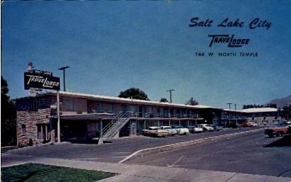 Travelodge - Salt Lake City, Utah UT Postcard