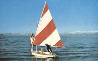 Sailing - Salt Lake City, Utah UT Postcard