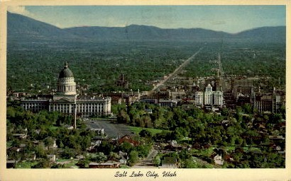 Salt Lake City - Utah UT Postcard