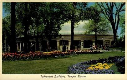 Tabernacle Building - Salt Lake City, Utah UT Postcard