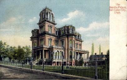 The Amelia Palace - Salt Lake City, Utah UT Postcard