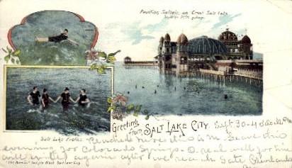 Salt Lake Frolics - Salt Lake City, Utah UT Postcard