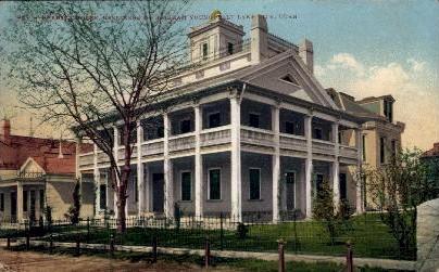 Beehive House - Salt Lake City, Utah UT Postcard