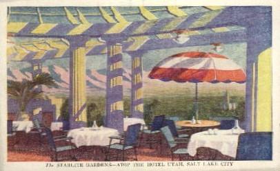 Starlite Gardens - Salt Lake City, Utah UT Postcard