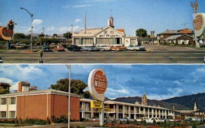 Covey's America Motel - Salt Lake City, Utah UT Postcard
