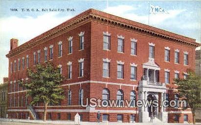 YMCA - Salt Lake City, Utah UT Postcard