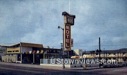 Imperial 400 Motel - Salt Lake City, Utah UT Postcard