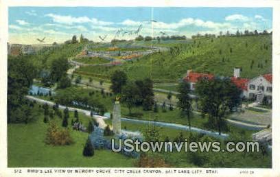 Memory Grove, City Creek Canyon - Salt Lake City, Utah UT Postcard