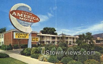 Little America Motel - Salt Lake City, Utah UT Postcard