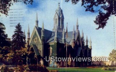 Assembly Hall, Temple Square - Salt Lake City, Utah UT Postcard