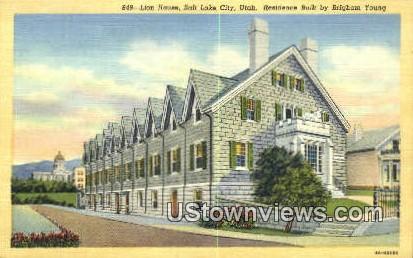 Lion House - Salt Lake City, Utah UT Postcard
