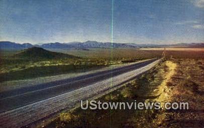 Highway on the Desert - Salt Lake City, Utah UT Postcard