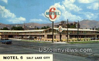 Motel 6 - Salt Lake City, Utah UT Postcard