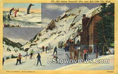 The Lodge, Romantic Alta - Salt Lake City, Utah UT Postcard