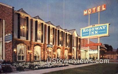 Rodeway Inns - Salt Lake City, Utah UT Postcard