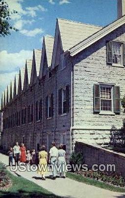 Residence of Brigham young - Salt Lake City, Utah UT Postcard