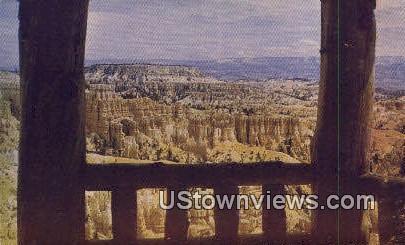 Shelter - Bryce Canyon National Park, Utah UT Postcard