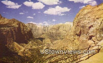 Switchbacks - Zion National Park, Utah UT Postcard