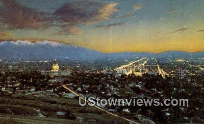 Bee Mountain - Salt Lake City, Utah UT Postcard