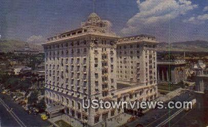 Hotel Utah - Salt Lake City Postcard