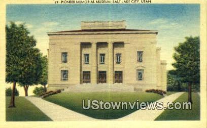 Pioneer Memorial Museum - Salt Lake City, Utah UT Postcard