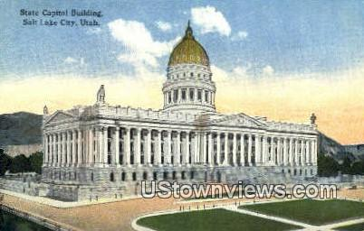 State Capitol - Salt Lake City, Utah UT Postcard